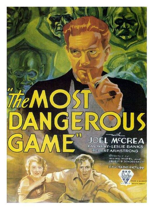 the most dangerous game by richard connell short story