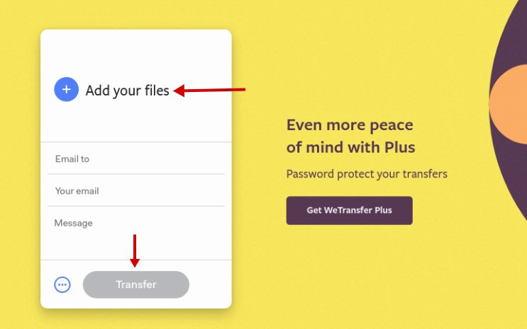 As Mentioned Wetransfer Doesn T Require You To Create An Account Use Its Service Unless Want The Premium Version Allows