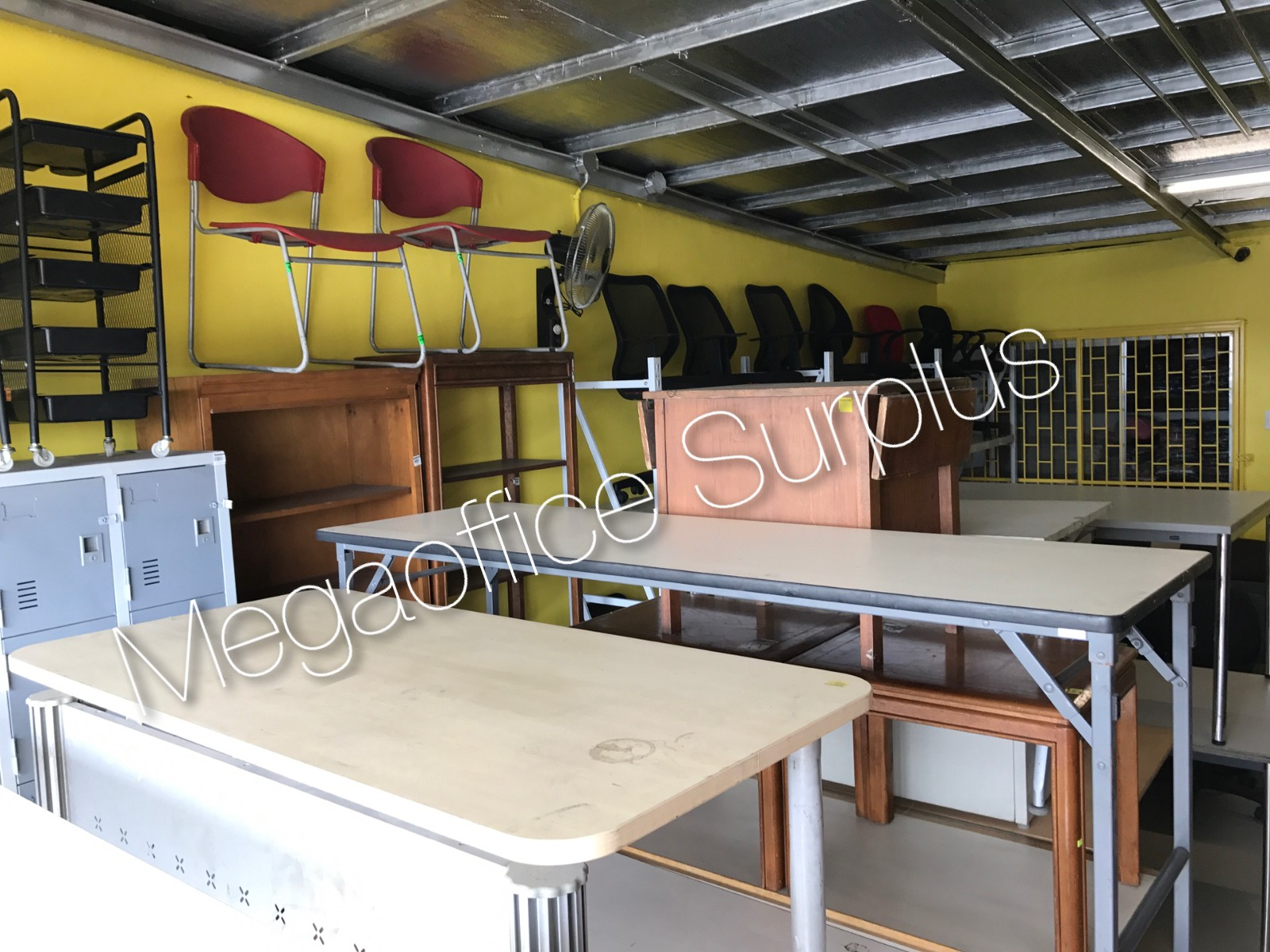 Megaoffice Surplus Gest Used Furniture Supplier Chain In The Philippines Brand New Chairs Tables Lockers Steel File Cabinet Also Available