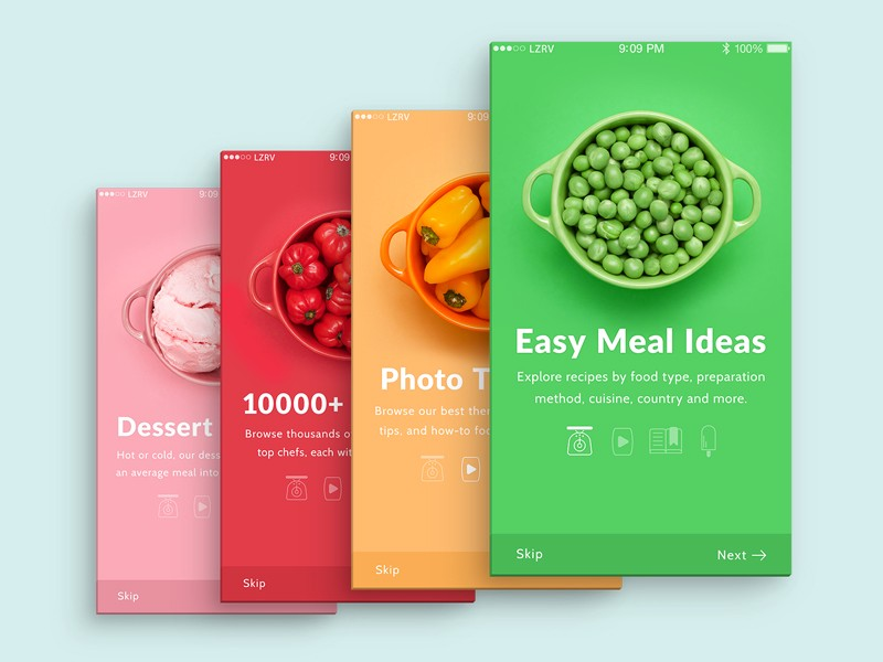 20 Fresh Food Mobile App Designs For Your Inspiration