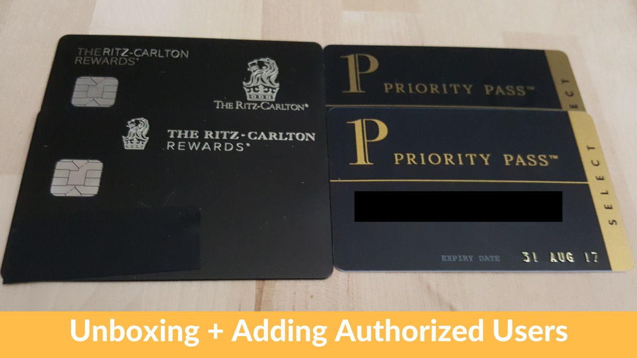 Chase Ritz Carlton Unboxing Free Priority Pass For