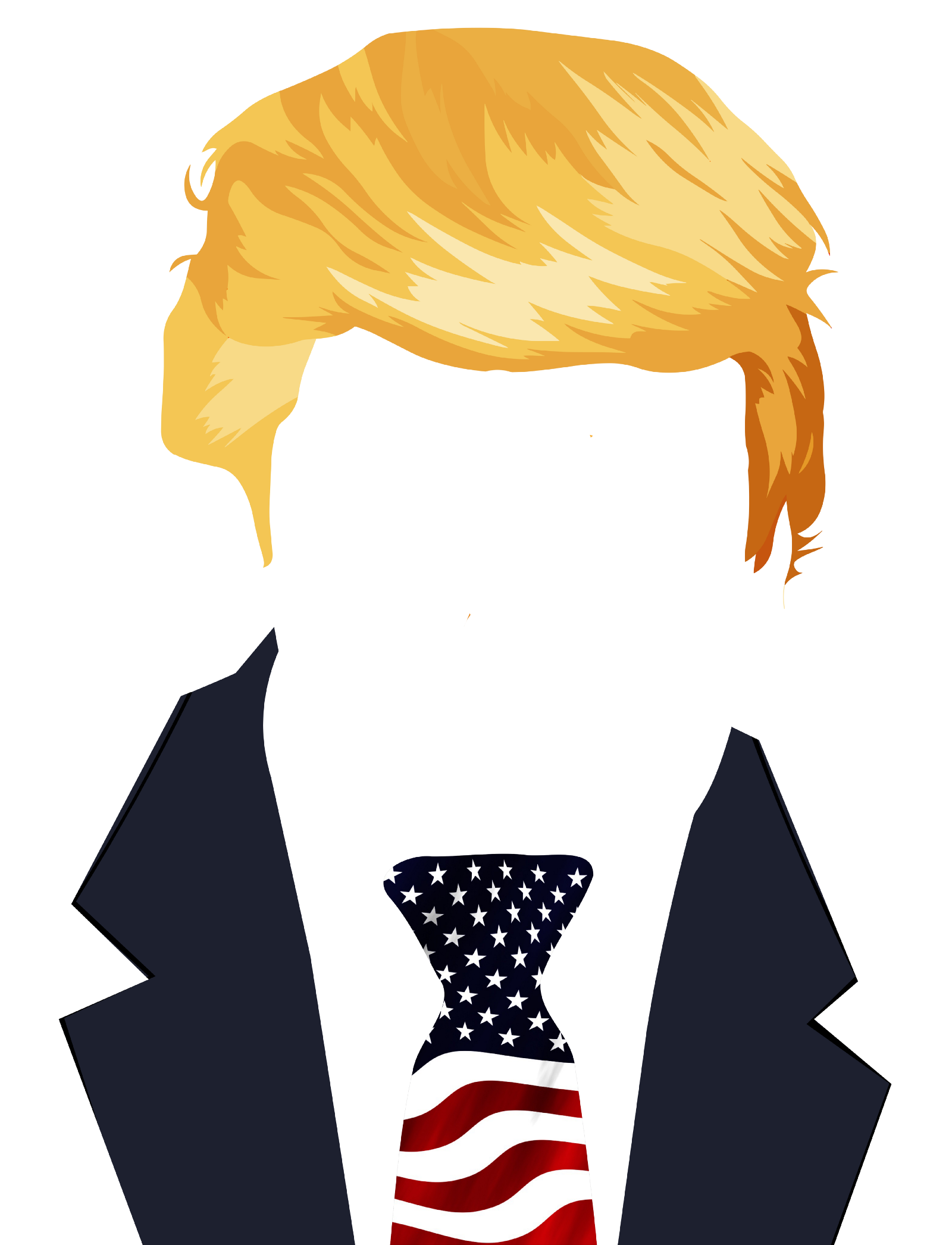 Trumps Hair Png 7