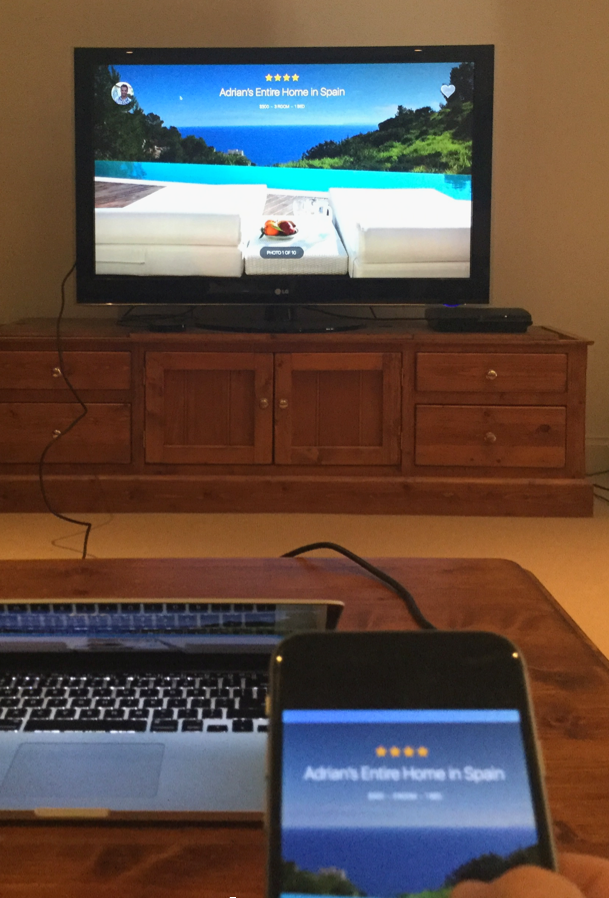 Prototyping And Exploring Custom Interactions For The Apple Tv