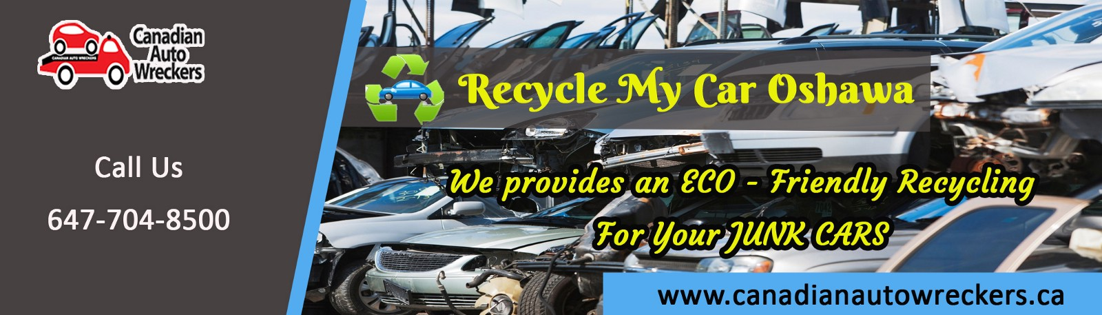 Remove Your Junk Vehicle With the Help of Experts From Recycle My ...