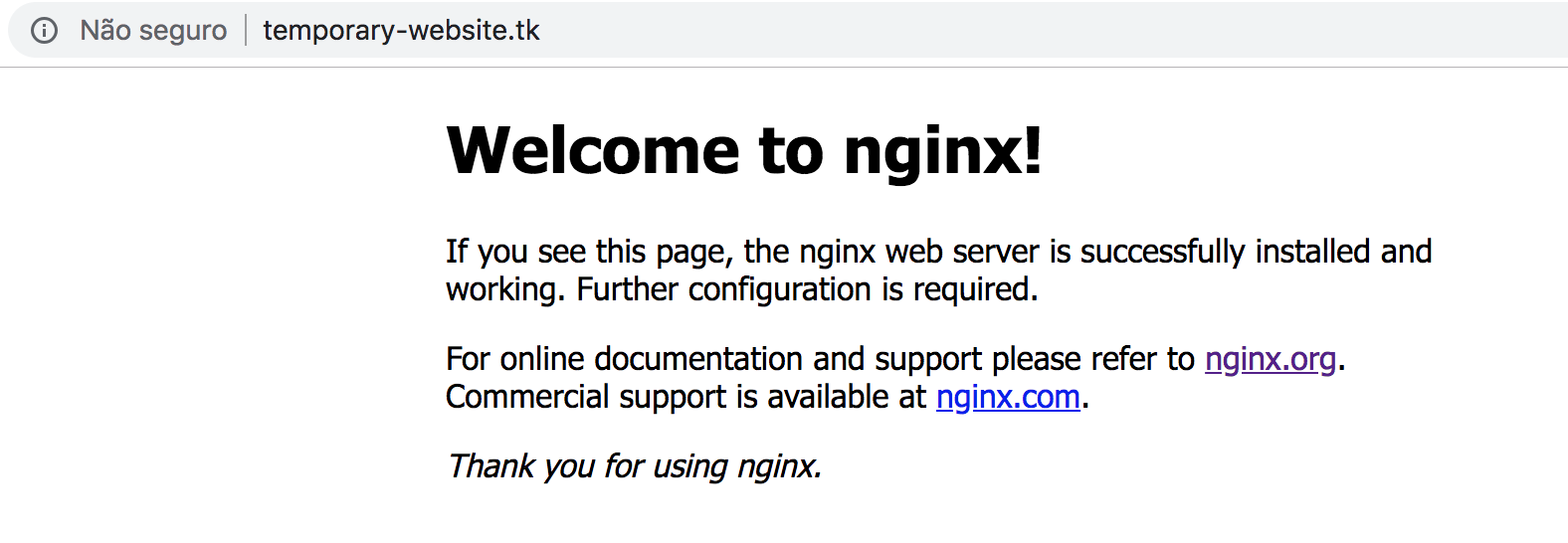 Configuring Your Server To Provide Https Using Lets Encrypt And Nginx
