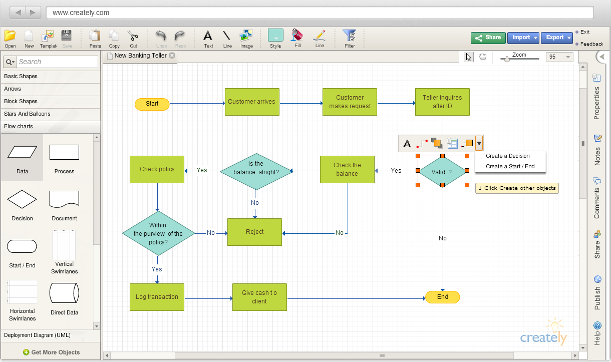 Best flowchart and diagram apps product management 101 medium 3 creately nvjuhfo Gallery