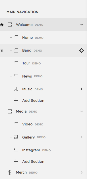 squarespace how to change main content font