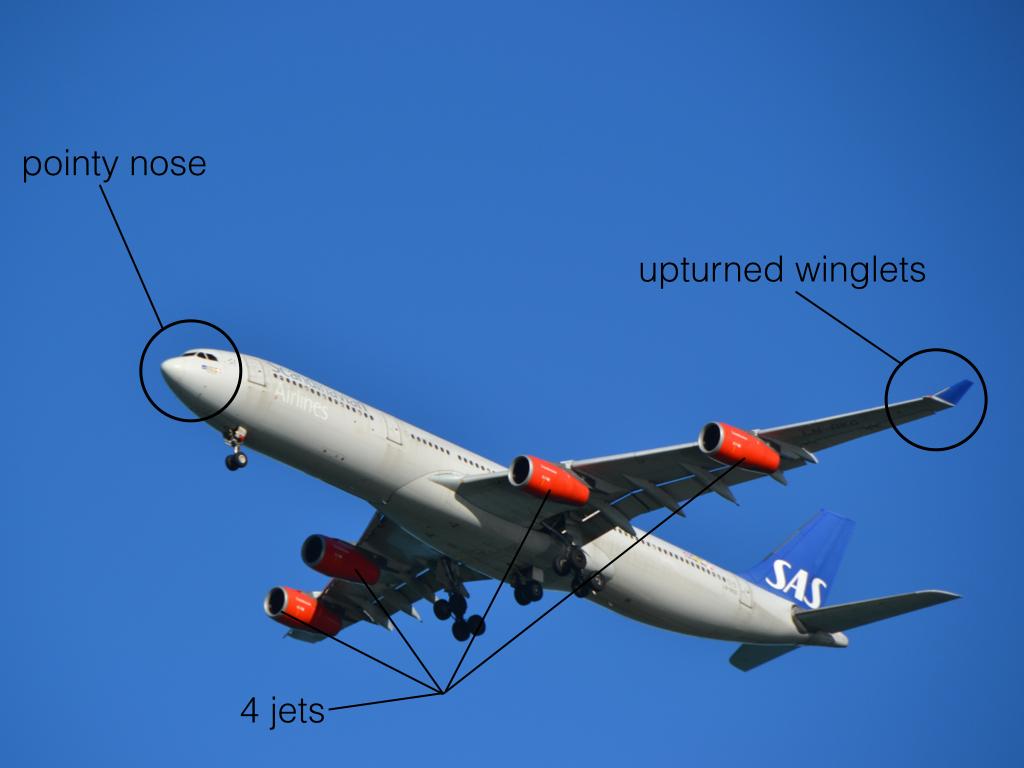 Watch How to Identify a Commercial Aircraft video