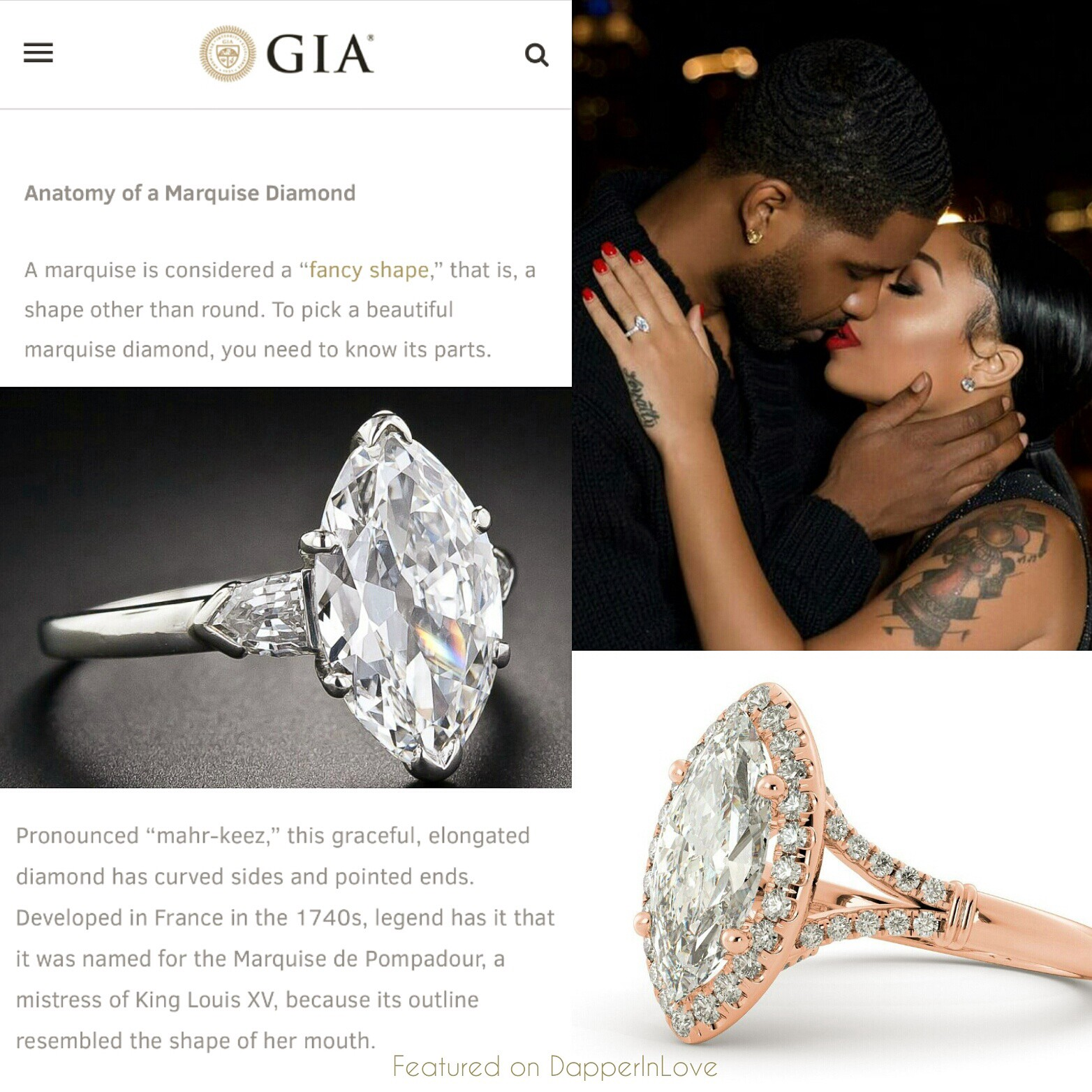 Her Diamond Is Considered A Royal Fancy Cut Because Of It S Elongated Shape But That Not Legend Dictates King Louis Xv Named This