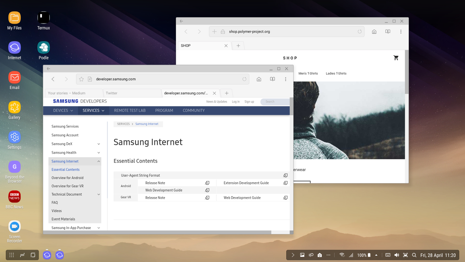 Samsung Dex Brings A New Dimension To The Mobile Web