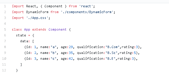 ReactJS — A quick tutorial to build dynamic JSON based form.