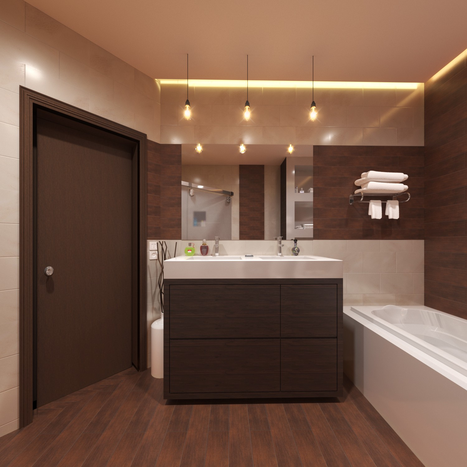 Architectural Rendering Services Los Angeles For Bathroom Project