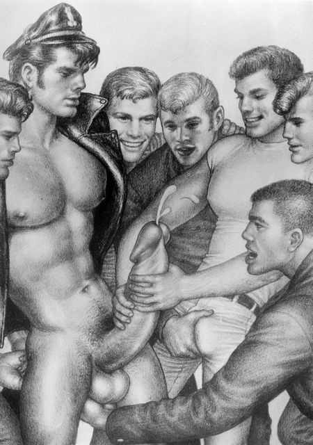Tom of finland porn apologise