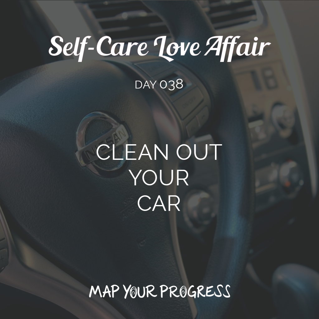 Day 038 Clean Out Your Car
