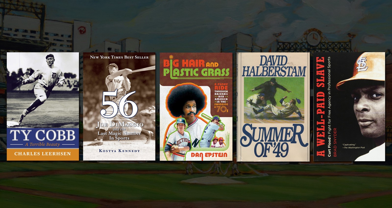 bf7cade01f4 Baseball and literature have a long and intertwined history