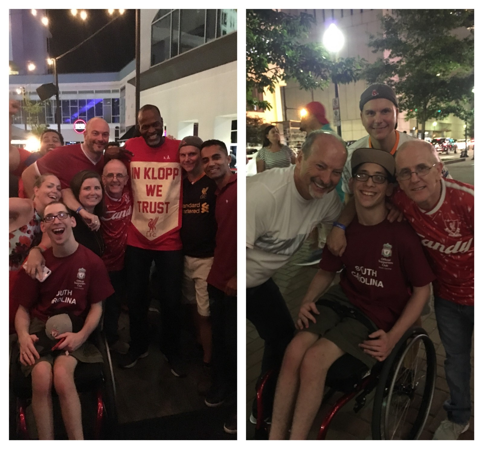 Liverpool Fans Paint Charlotte Red During International Champions Cup