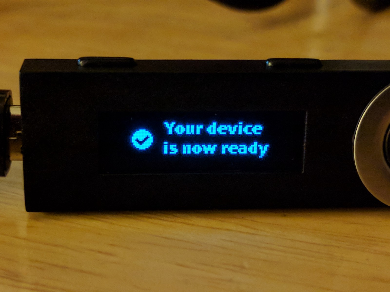 Ledger Nano S Restoring A Device Using Recovery Phrase