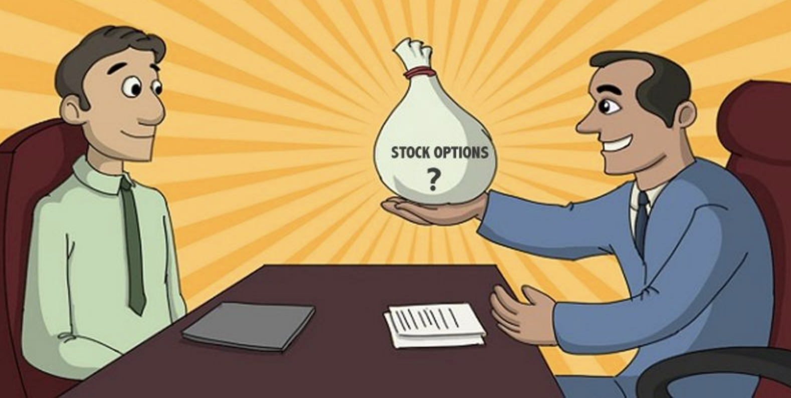 How to sell vested stock options