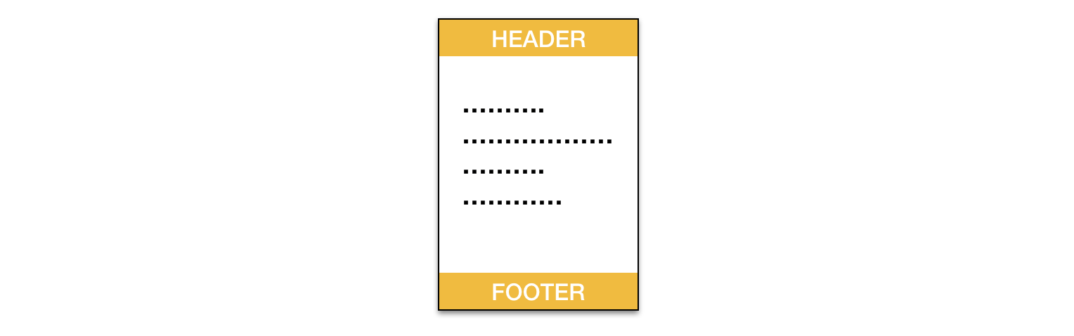 The Ultimate Print Html Template With Header Footer