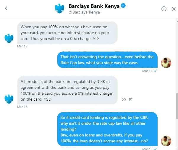 Usury How Barclays Kenya Is Stealing From Its Credit Card Customers