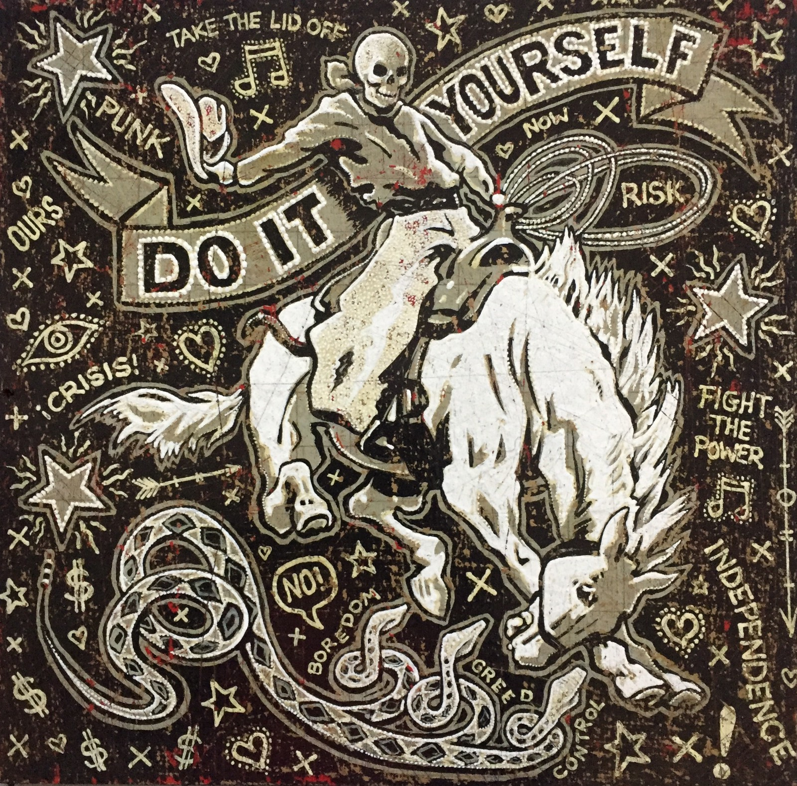Diy it all started with spiral scratch do it yourself the diy it all started with spiral scratch a piece of jon langford art solutioingenieria Image collections