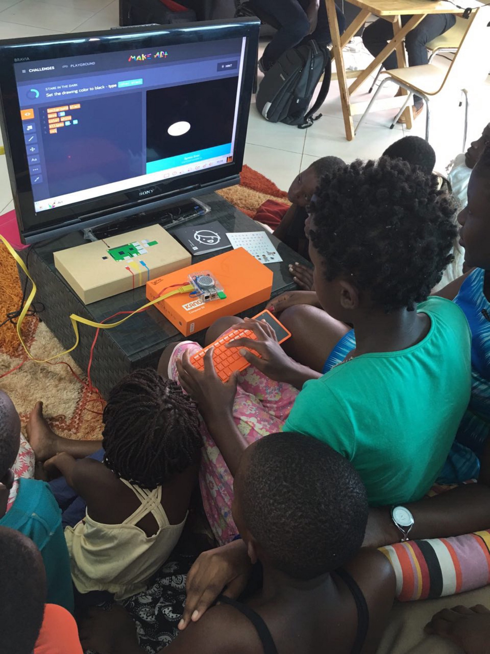 3 Computer Kits By Kano For Girls In Africa Marieme Jamme Medium We Have A New As Look Into How To Make Technology Accessible All The Dyi Will Play Massive Role Lives Of Like Laetitia Living Uganda