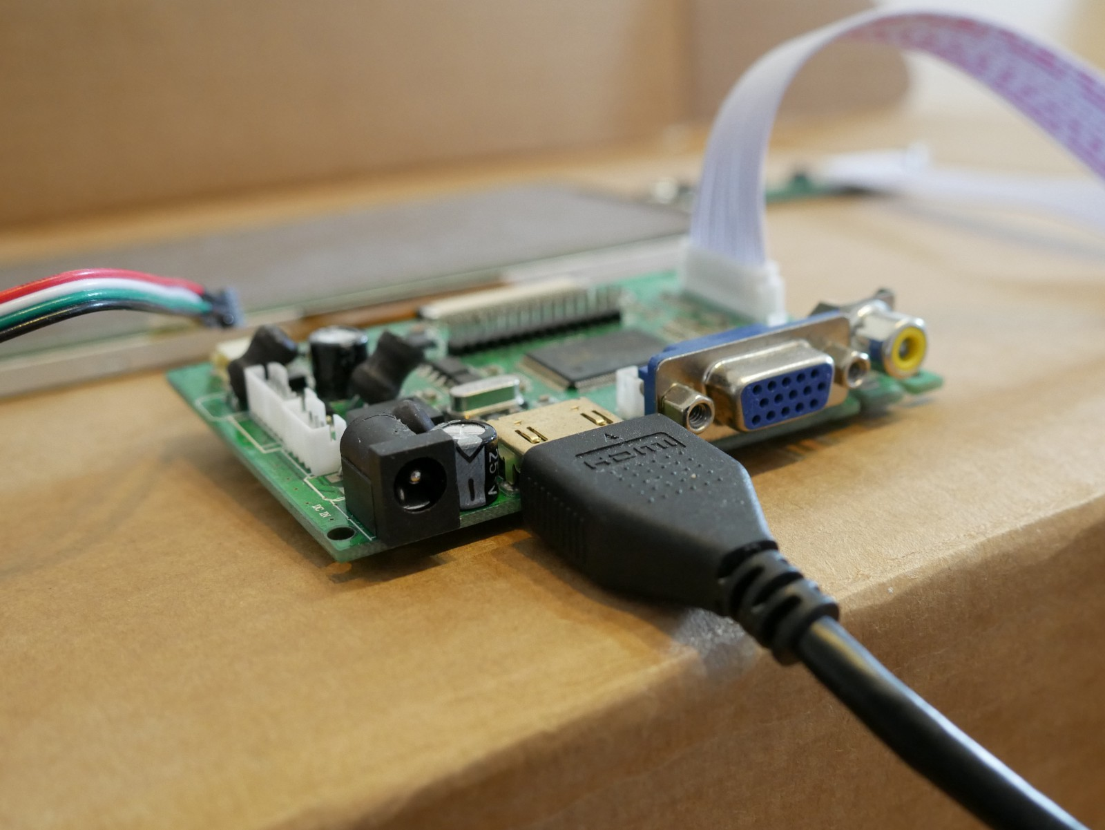 Building A Touchscreen Interface For Raspberry Pi Humanizing Tech Hdmi Home Wiring Diagram Smart In