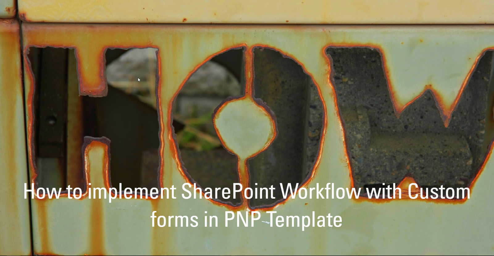 How to implement SharePoint Workflow with Custom forms in PNP ...