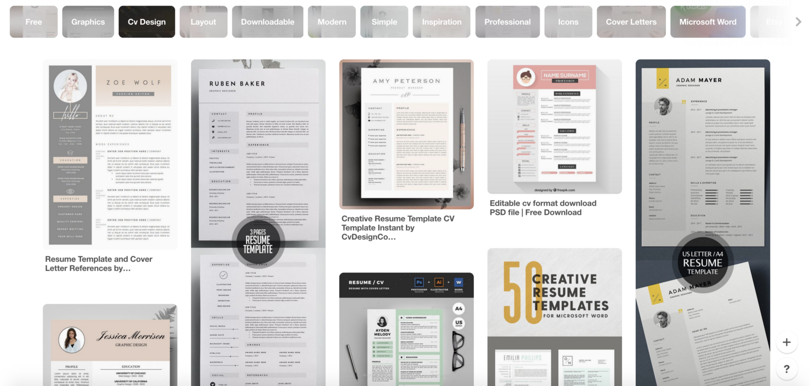 1 You Are Applying For A Designer Position Dont Use Free Resume Template