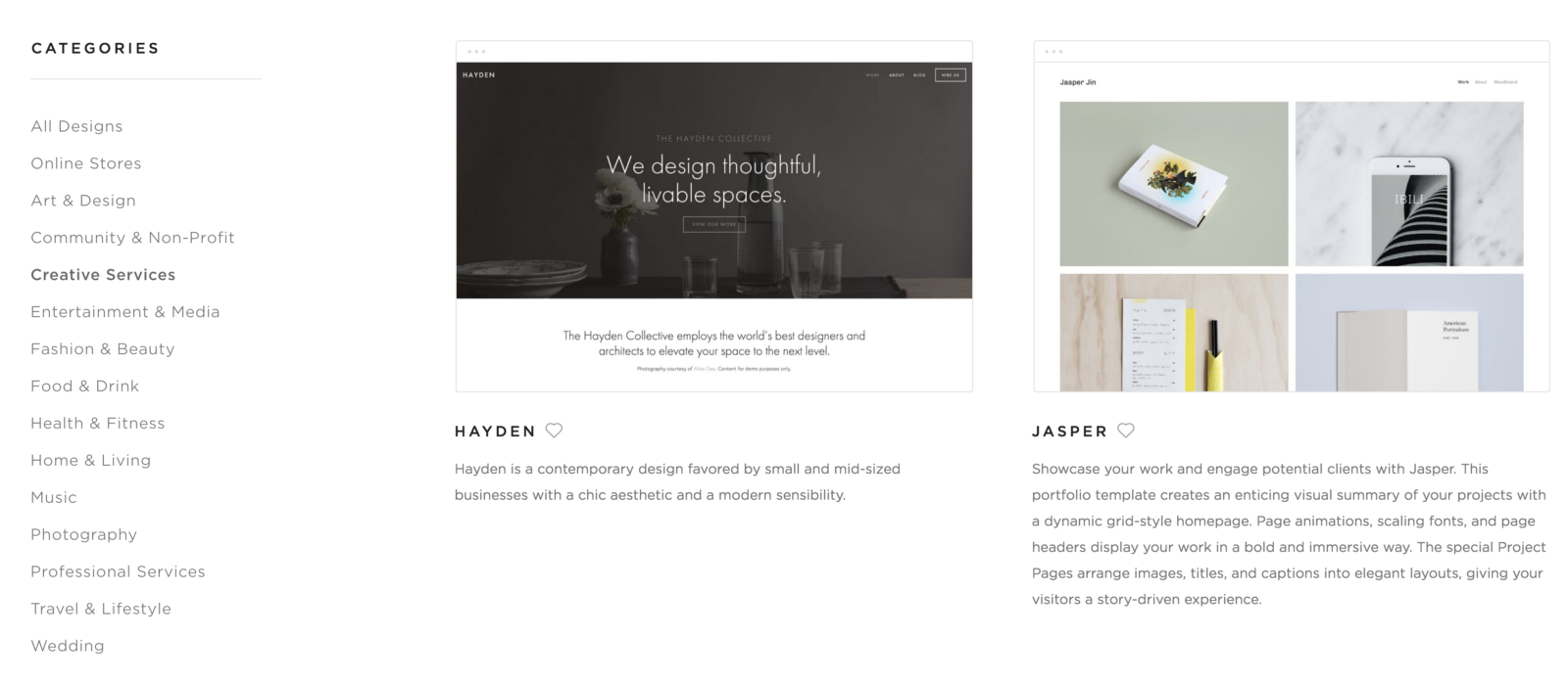 10 steps to create your first squarespace website slate for Squarespace templates with sidebar