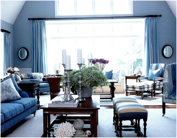 Blue Shades In Interior Design Rules And Tips Best Ideas