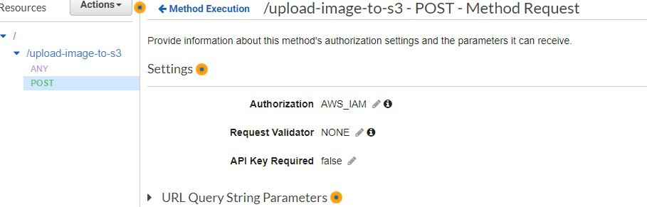 Uploading images to AWS from remote devices securely via Rest API