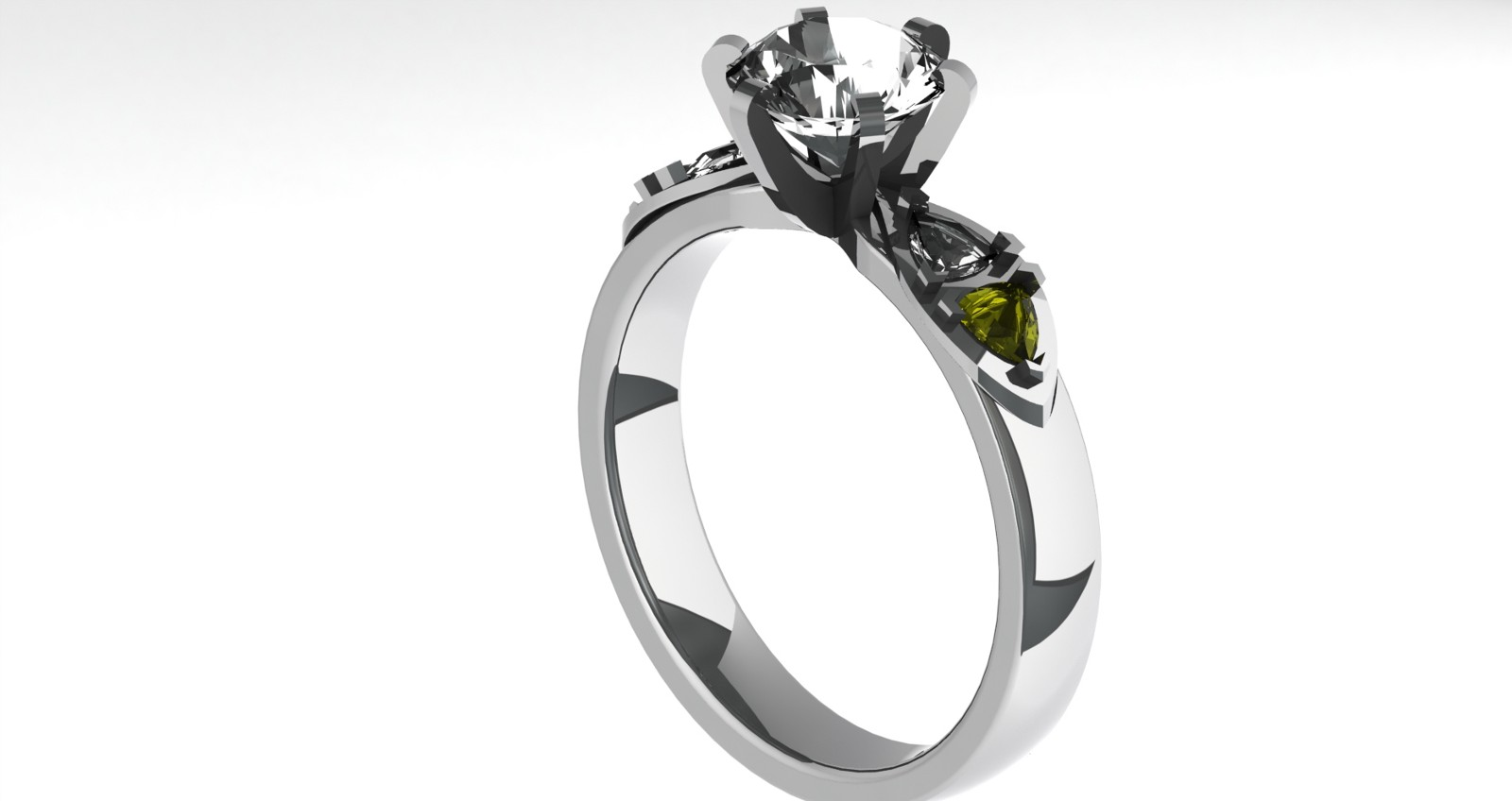Technical Memorandum Of My 3d Printed Engagement Ring Project Walet Black Soap Original Box Diamond Hmm Why Not Lets Just Try A Render Test For Historical Purposes