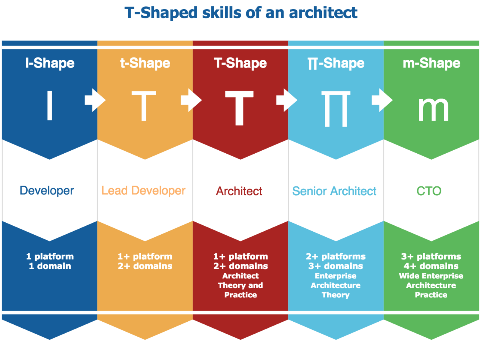 t shaped skills of an architect