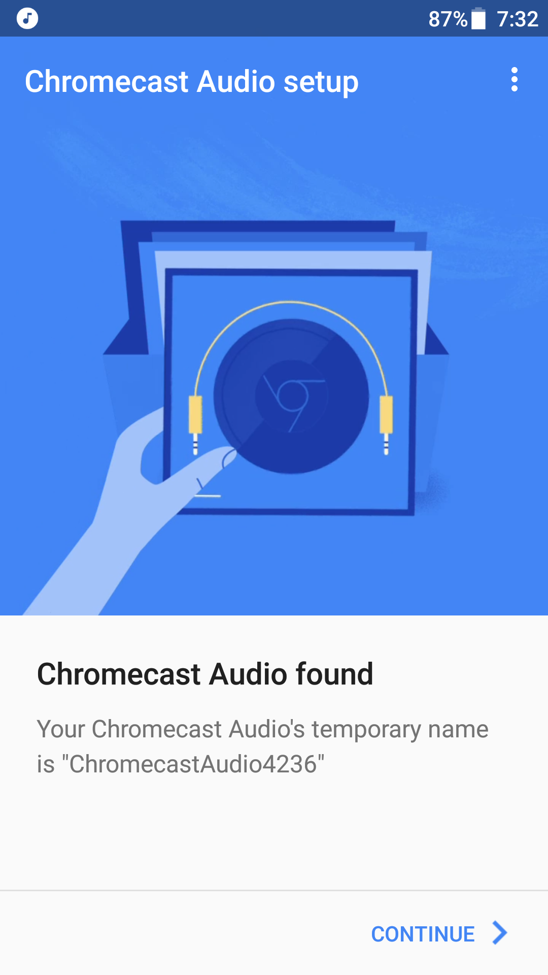So, I decided to purchase a Chromecast Audio, plug it into my headphones  and give it a try.