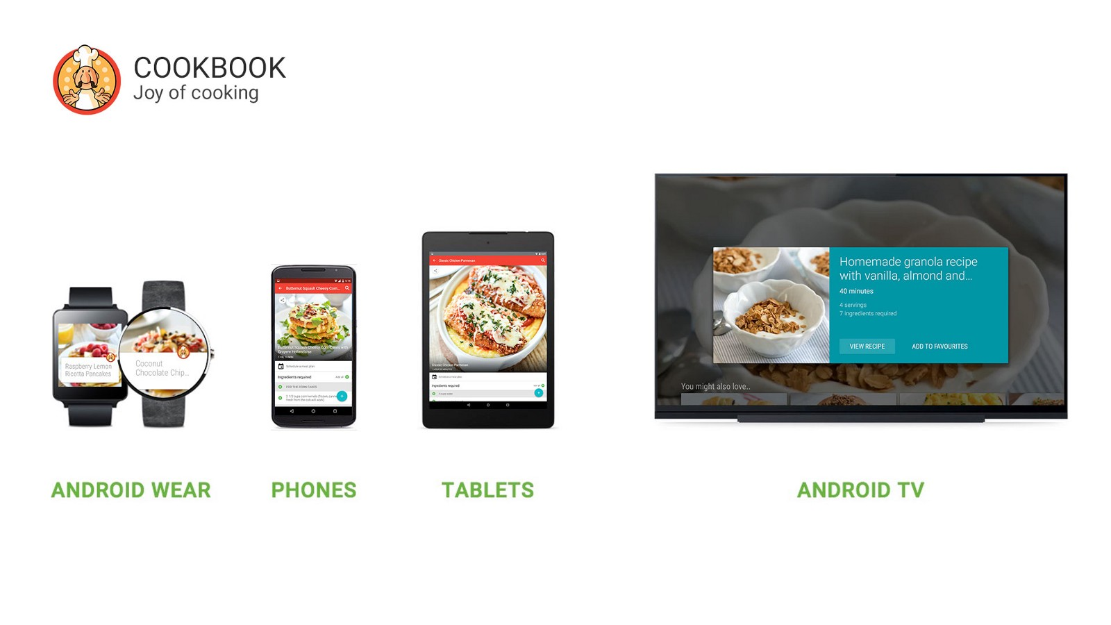 How Cookbook Became The First Cooking App On Android Tv