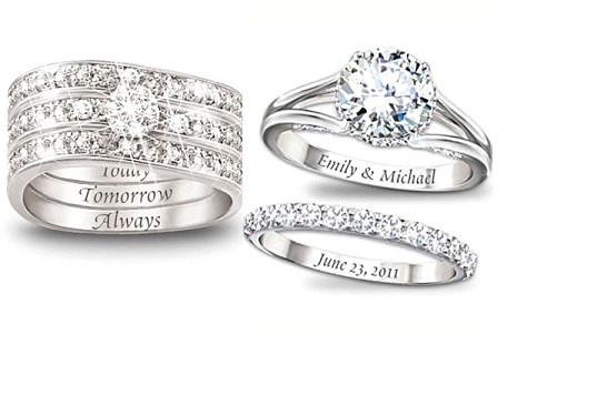 You Can Imprint Or Engrave Your Wedding Ring With A Special Memo Marriage Date Name Initials Any Other Thing For Both