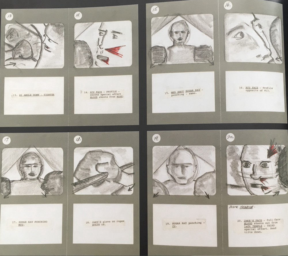 Storyboard From Martin Scorsese For His Film U201cRaging Bullu201d. Taken From The  Book The Art Of Movie Storyboards (2013).