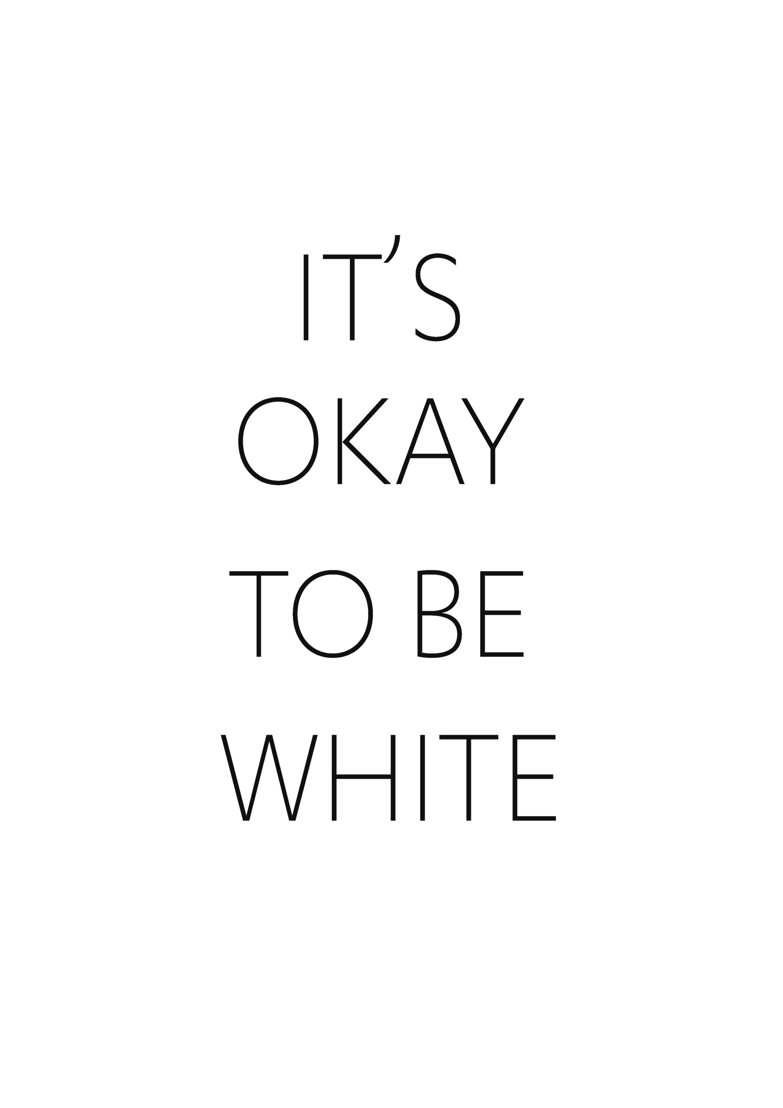 it s okay to be white flyers appear at the university of alberta