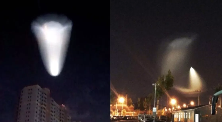 A mysterious flying object in China causes panic, and it is not a rocket