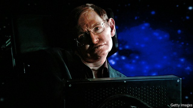 Stephen Hawking, the man who explained the universe
