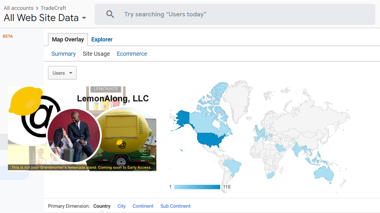 We launched a mobile lemonade stand and it went global in a matter of hours!