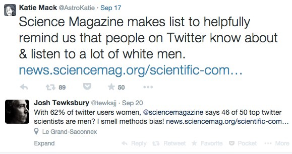 should scientists be on twitter kate wing medium