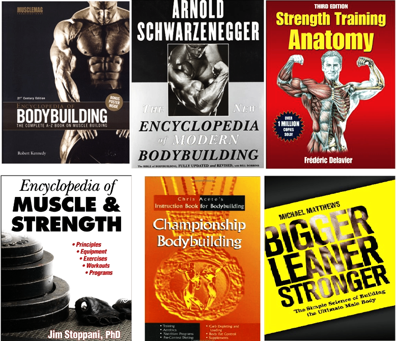 Top 10 Bodybuilding Books—Best Exercise, Health and Nutrition Books