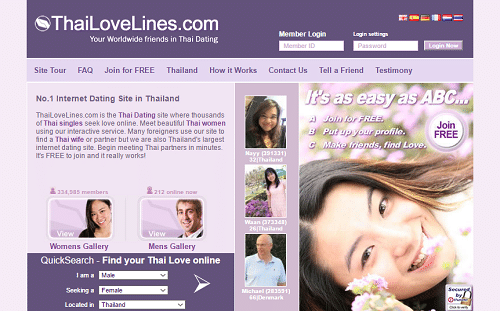 Top free thai dating sites