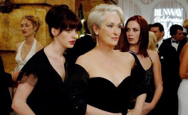Scene from The Devil Wears Prada Courtesy 20th Century Fox