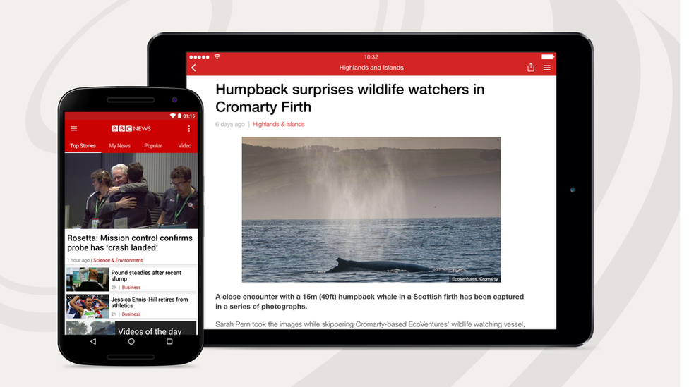 UX case study — BBC NEWS app android