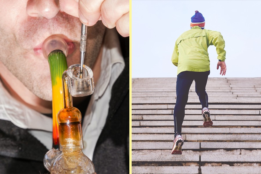 How to Optimize Your Workouts With Weed