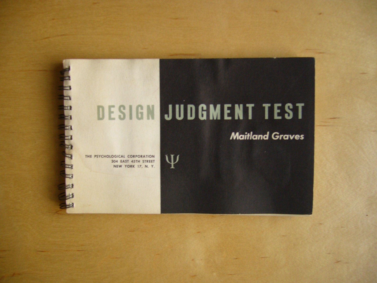 A Design Judgement Test