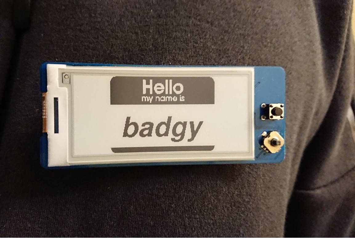 building an iot badge with esp8266 epaper w4ilun medium